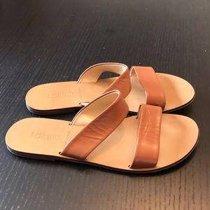 Jcrew slide sandals